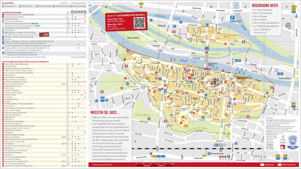Karte Regensburg Altstadt.Regensburg Sattelbogen Feriendorf